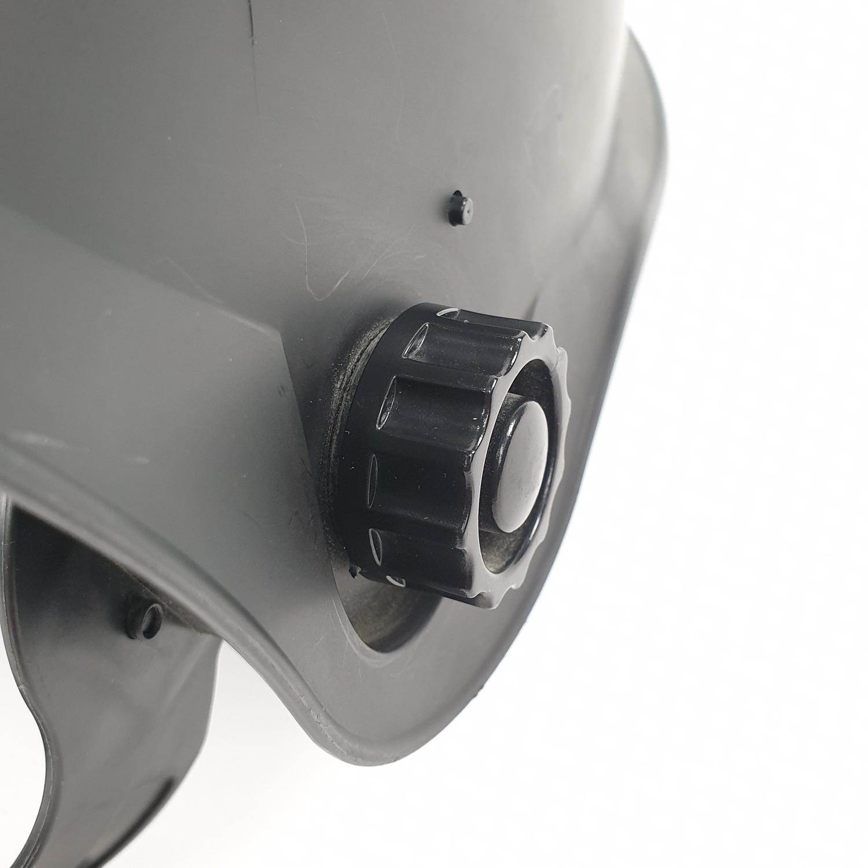 Protx หน้ากากเชื่อมปรับแสงอัตโนมัติพลังงานแสงอาทิตย์ W1190TC-BLACK สีดำ