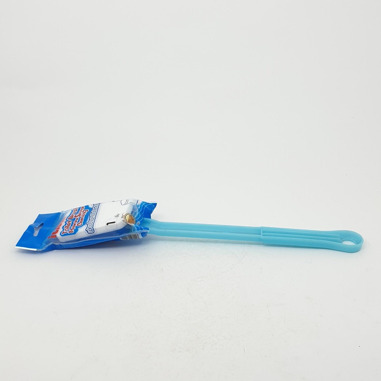 ICLEAN แปรงฟองน้ำเมลามีนขัดห้องน้ำ HDB 02 BLU/WHT สีฟ้าขาว