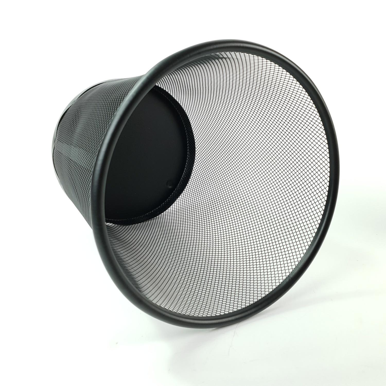 SMITH  ตะกร้าเหล็ก 8.5 ลิตร ขนาด 24x24x26.5ซม.  TG59201 สีดำ