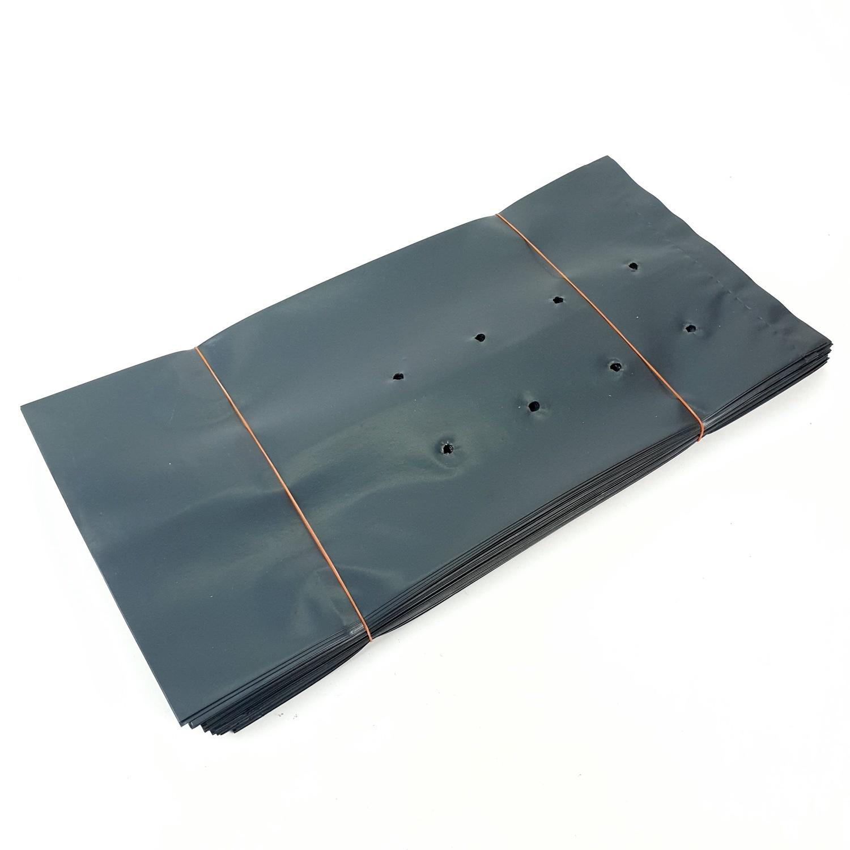 - ถุงเพาะชำ 7x14 นิ้ว - สีดำ