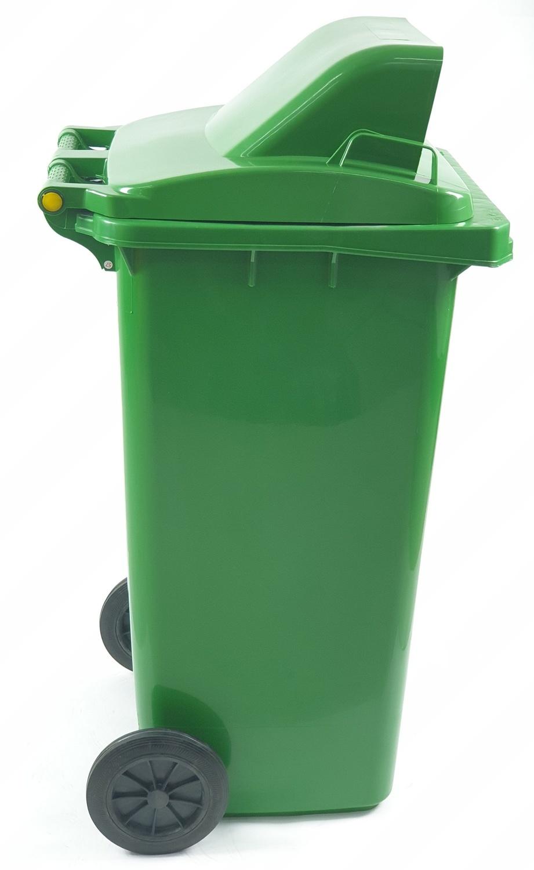 ICLEAN ถังขยะฝาสวิง 120 ลิตร XDL-120A-3G  สีเขียว