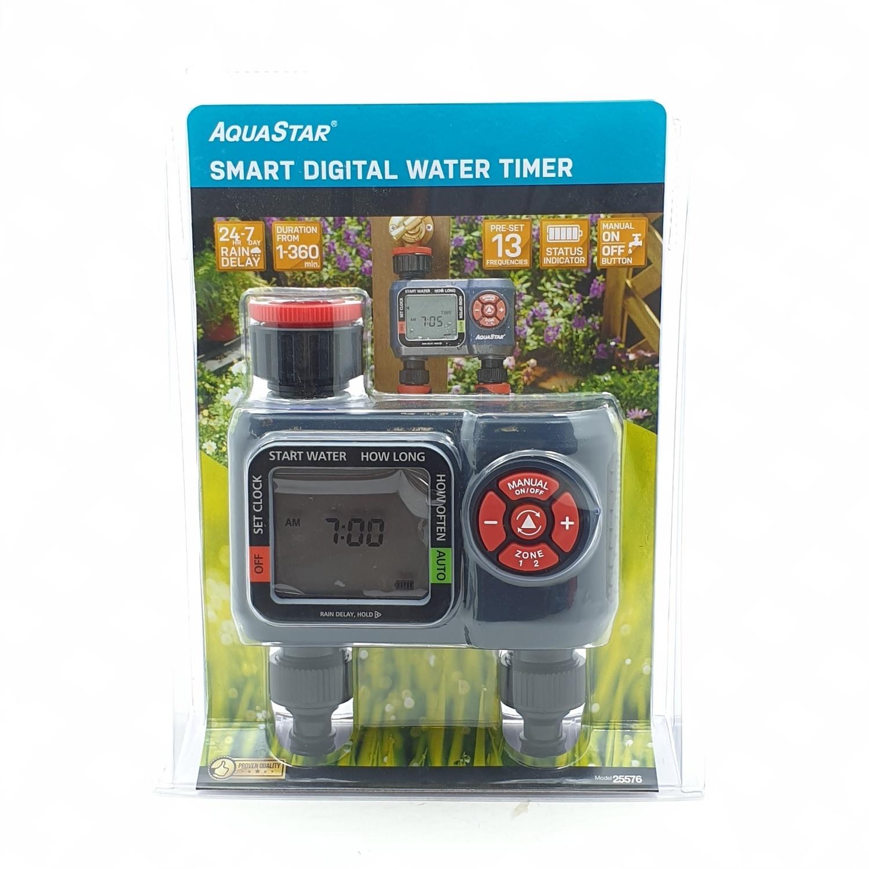 Aquarstar เครื่องตั้งเวลารดน้ำ 2 ทาง  25576