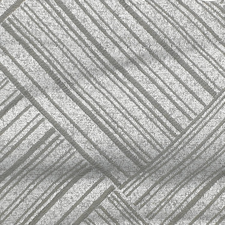Davinci ผ้าม่านหน้าต่างพิมพ์ลาย ขนาด 140x160 ซม.  A72016AW#6WD  สีเทา