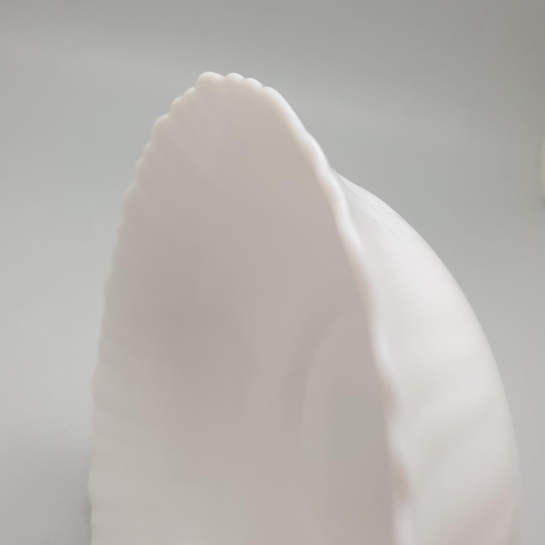 ADAMAS ถ้วยโอปอลขอบริ้ว ขนาด 6.5 นิ้ว HBDW65