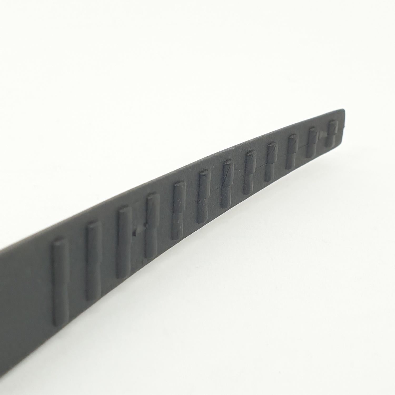 nibiru ที่คีบอาหาร (ไนลอน) ZSHHY040-Bk สีดำ