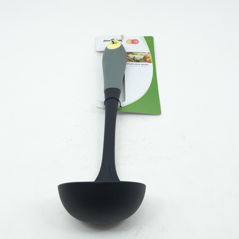 nibiru ช้อนตักซุป (ไนลอน) ZSHHY085-YE สีดำ