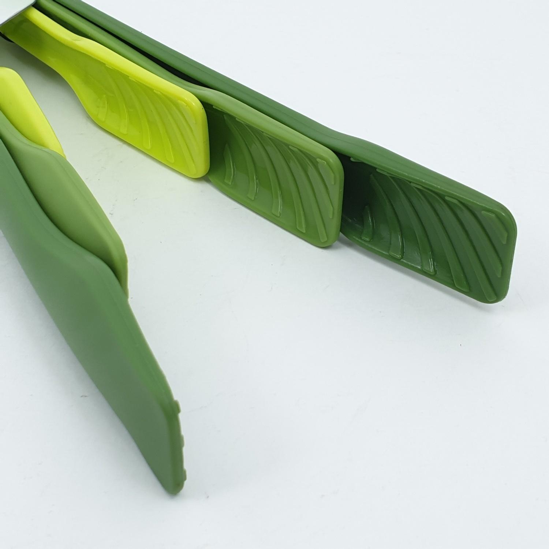 - ชุดที่คีบอาหาร 3 ชิ้น ZSHHY100-GN สีเขียว
