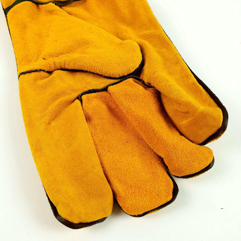 Protx ถุงมือเชื่อม JR-WGY 14 นิ้ว สีเหลือง