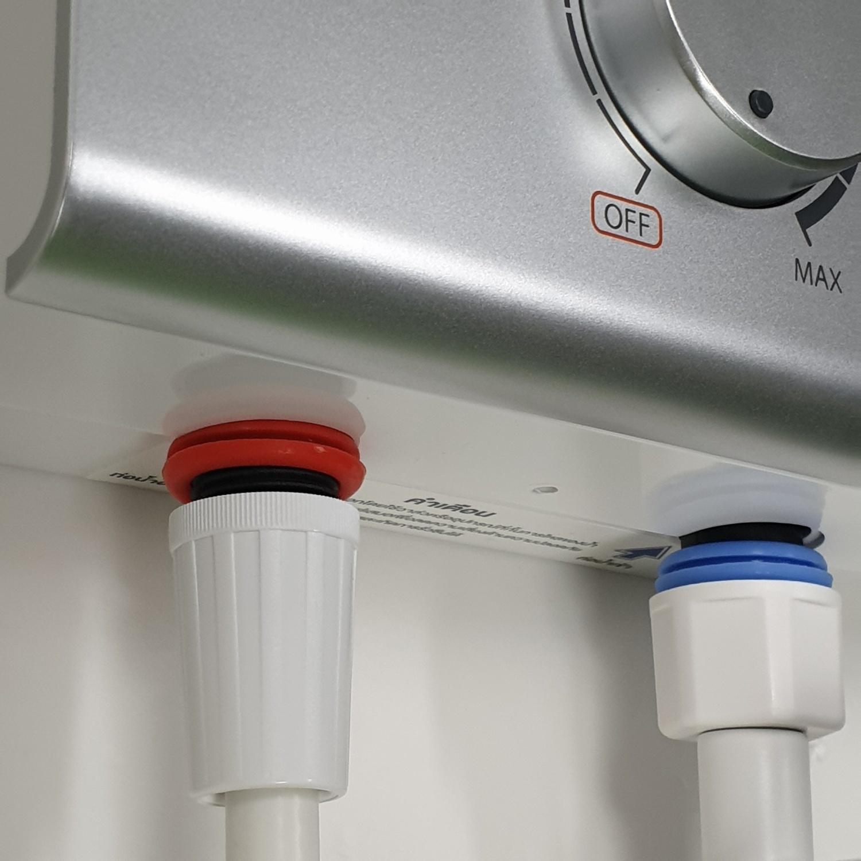 TOSHIBA เครื่องทำน้ำอุ่น 4500 วัตต์  DSK45ES5KW สีขาว