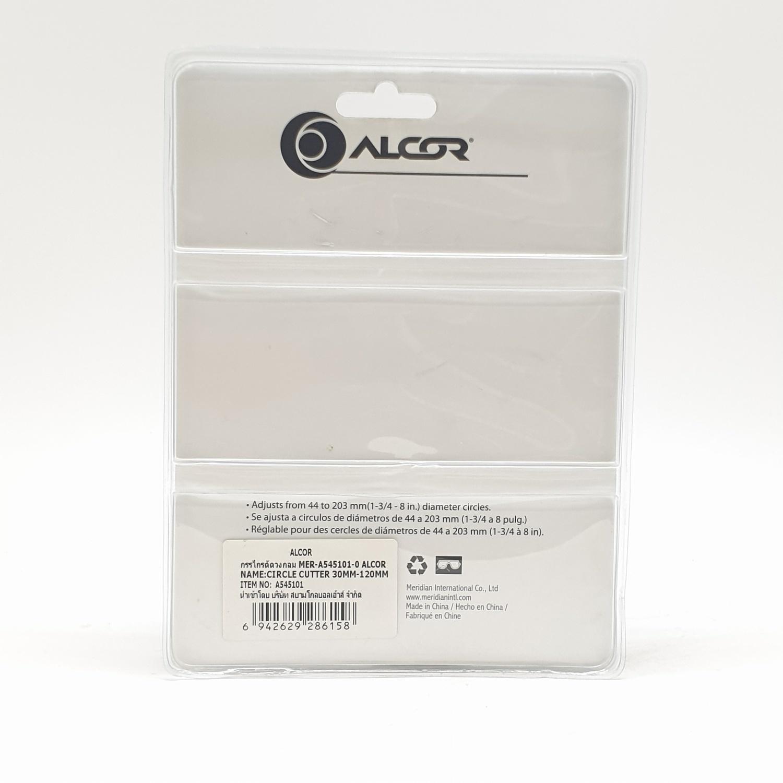 ALCOR โฮลซอเจาะไม้/ผ้า  A545101  สีดำ