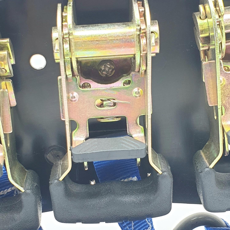 ALCOR สายรัด 5M.x25MM. 300KG. 4PC A376034  สีน้ำเงิน
