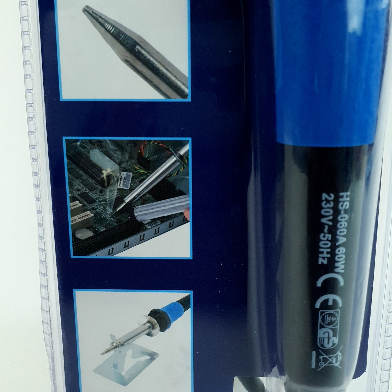 ALCOR หัวแร้ง 60W. A406506EU สีน้ำเงิน