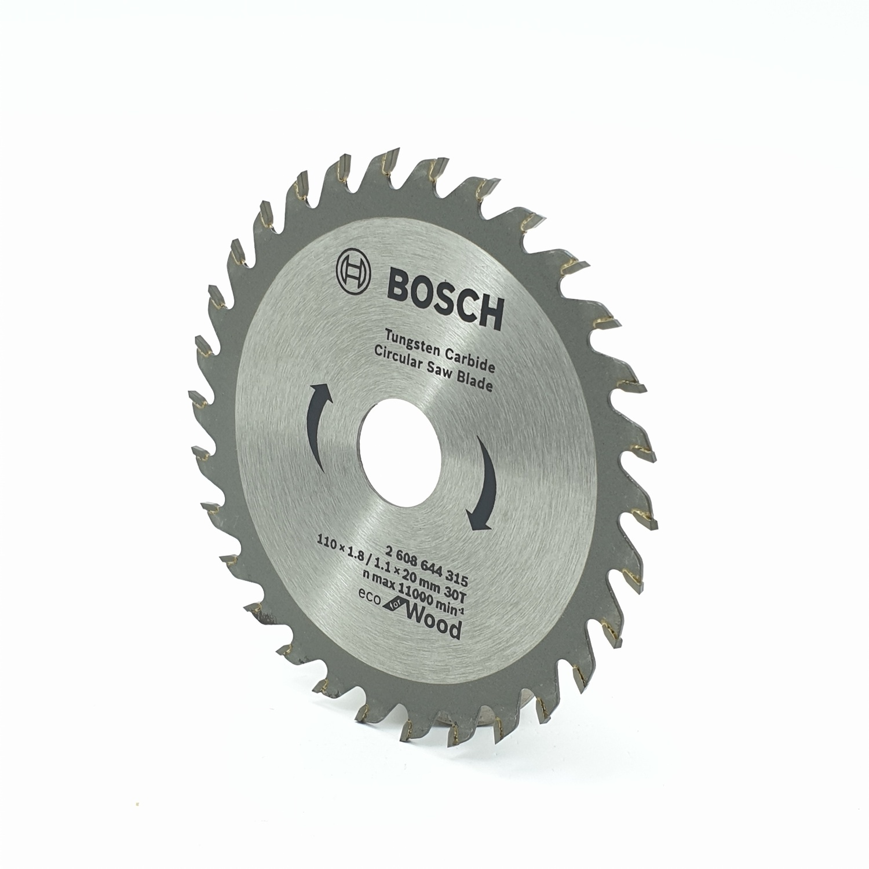 BOSCH ใบเลื่อยวงเดือน  CSB Eco for wood Bosch โครเมี่ยม