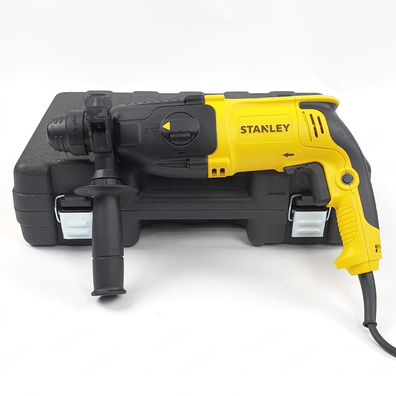 STANLEY ชุดสว่านโรตารี่ไฟฟ้า 3 ระบบ 26มม.  ขนาด 800W  SHR263KA-B1  สีเหลือง-ดำ