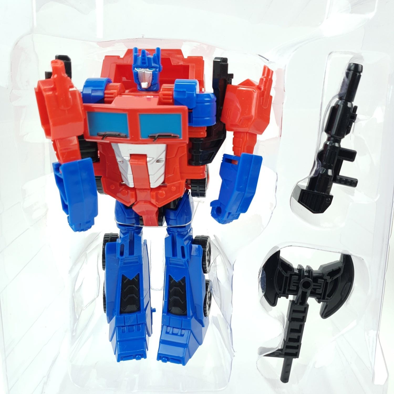 USUPSO หุ่นยนต์ทรานฟอร์เมอร์ (สีแดง-ฟ้า)