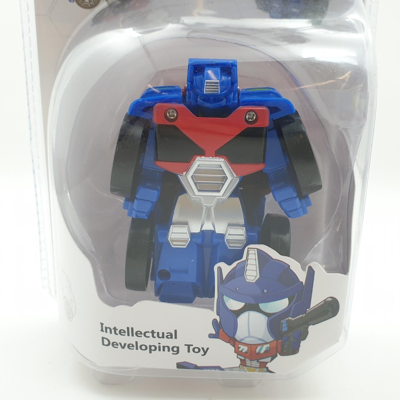 USUPSO ของเล่นรถประกอบเป็นหุ่นยนต์ 1002 สีน้ำเงิน