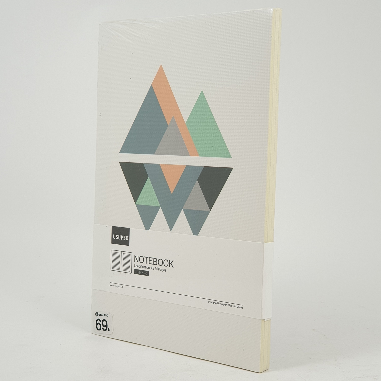 USUPSO  สมุดโน๊ต  Minimalist A5 (#BD) สีขาว