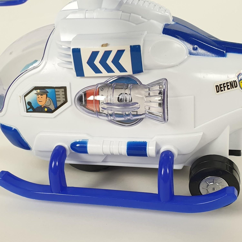 USUPSO ของเล่นเฮรีคอปเตอร์ไฟฟ้า  (#BU9) สีฟ้าเข้ม