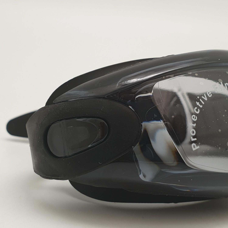 USUPSO แว่นตาสำหรับว่ายน้ำผู้ใหญ่ - สีดำ