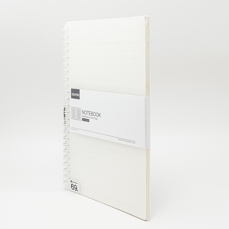 USUPSO  สมุดจดบันทึก  A560 สีขาว