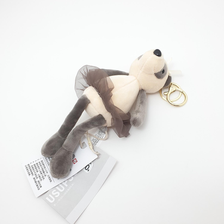 USUPSO  พวงกุญแจตุ๊กตาแพนด้า 20 ซม.  (#AA9) สีน้ำตาล