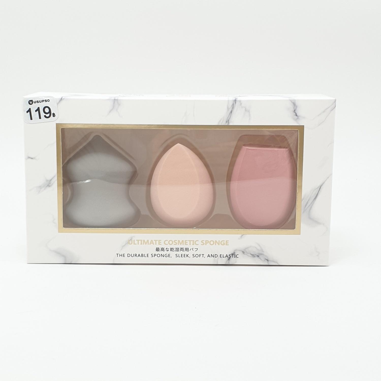 USUPSO ชุดพัพรูปไข่ 3 ชิ้น -