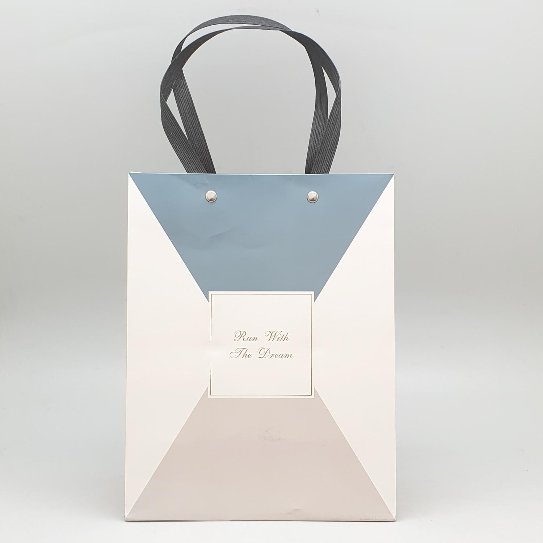 USUPSO ถุงของขวัญ Nordic  M (#W5) สีขาว