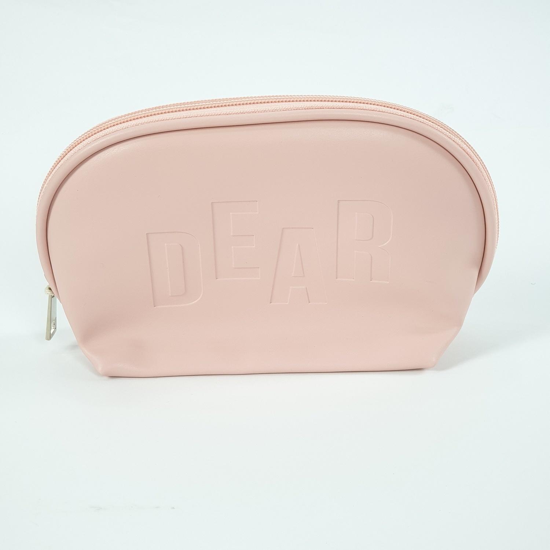 USUPSO กระเป๋าเครื่องสำอางค์ทรงหอยเชล - สีชมพู