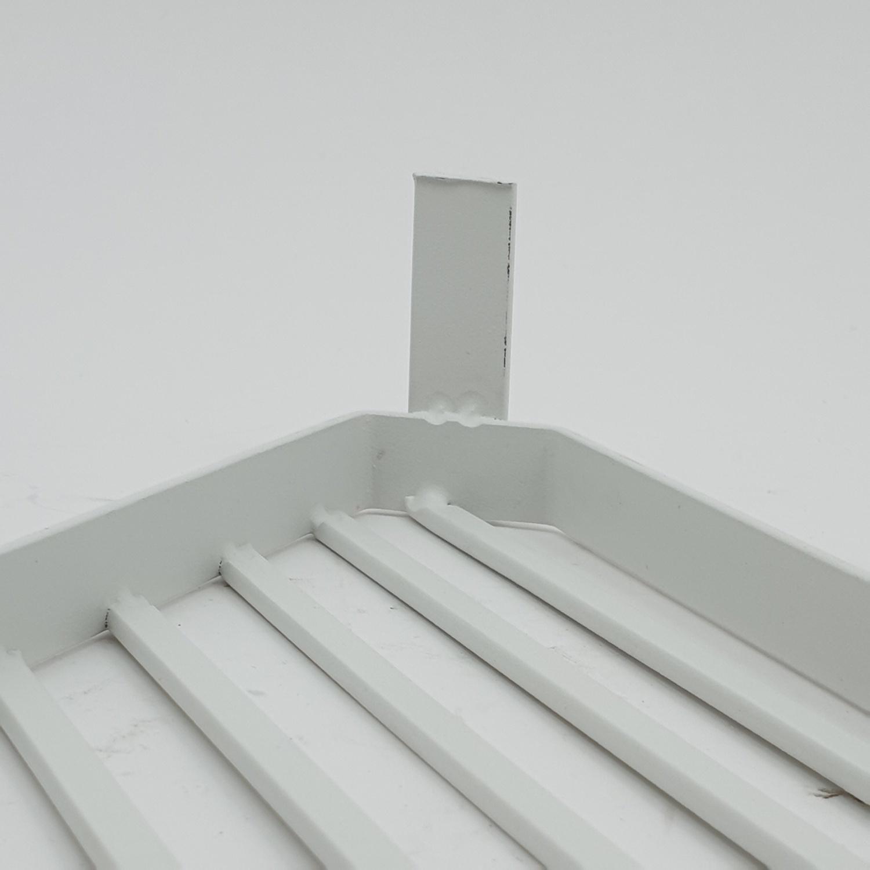 USUPSO ที่วางของสามเหลี่ยม ขนาด 26x26x5 ซม.  QYTY025-WH สีขาว