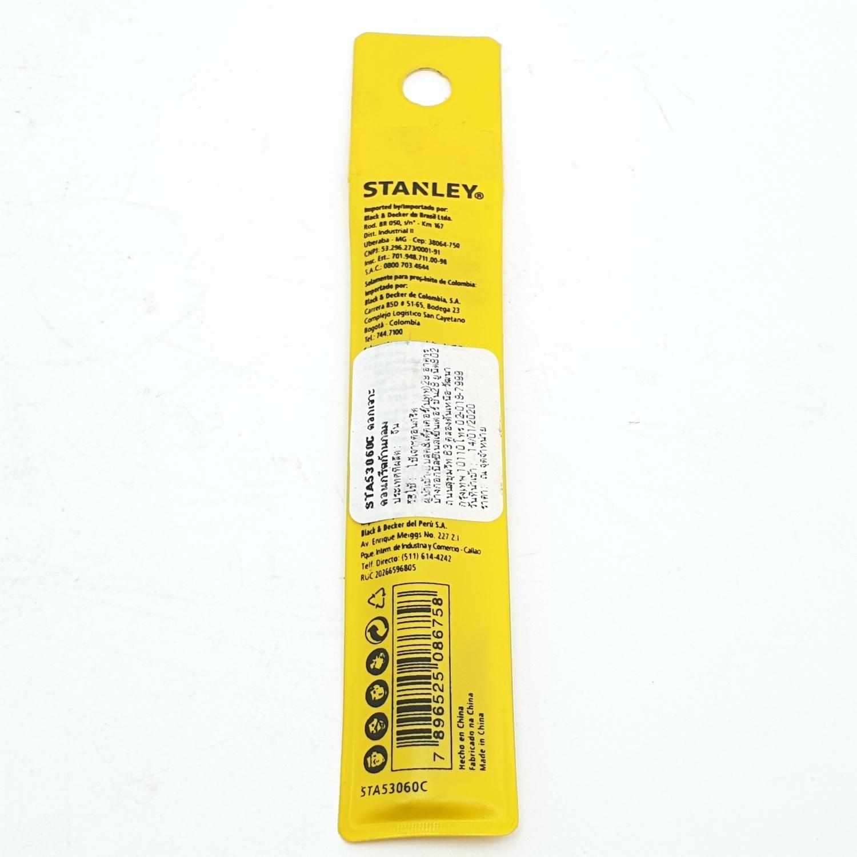STANLEY ดอกเจาะคอนกรีตก้านกลม 6x100มม. STA53060C สีเหลือง