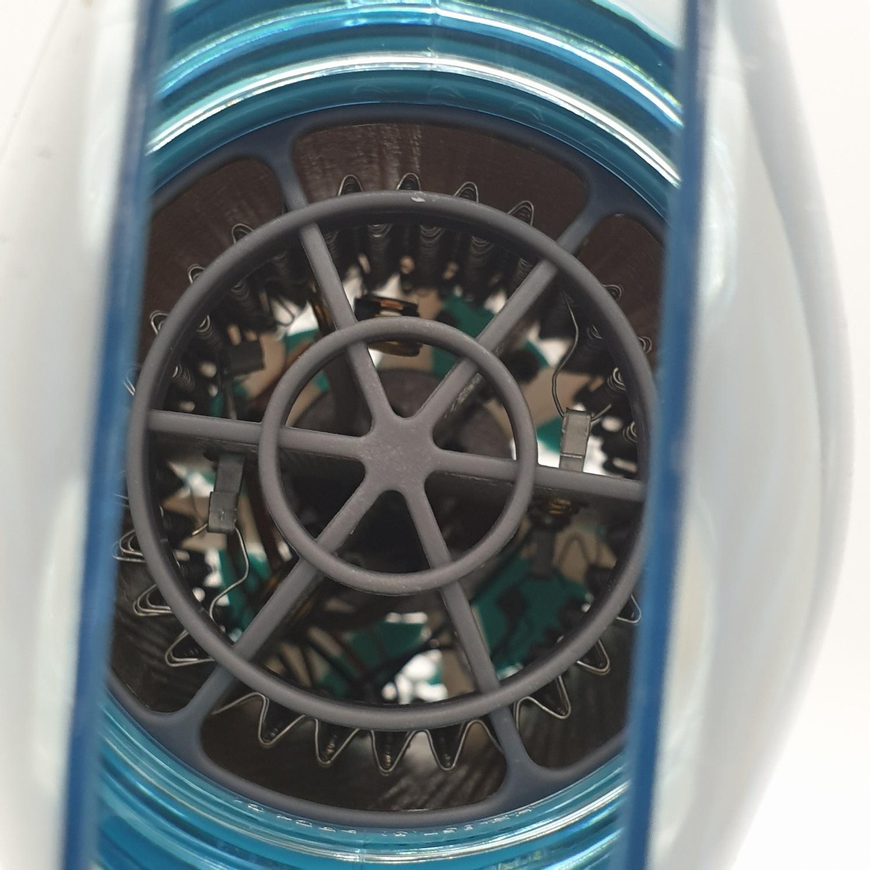PHILIPS ไดร์เป่าผม สีขาว-เขียวอ่อน BHD006 1600W สีขาว