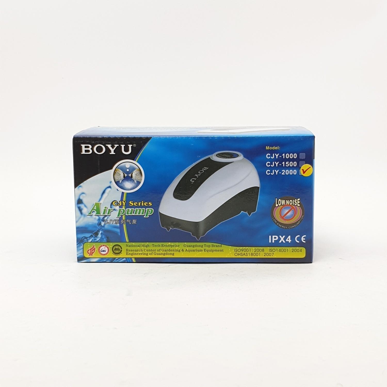 BOYU ปั้มลมตู้ปลาขนาด 2.7W  CJY-2000