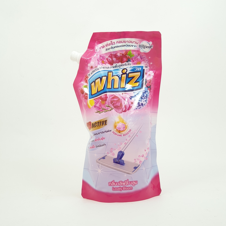 Whiz วิชถูพื้น เติม 800 มล. 1102319 สีชมพู