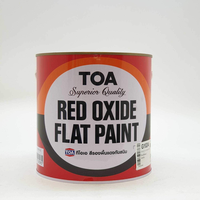 TOA  สีรองพื้นแดงกันสนิม G1024กล. สีแดง