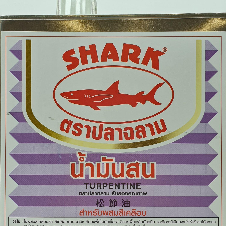 TOA ปลาฉลาม น้ำมันสน กระป๋อง 2.3 กก 0TUR