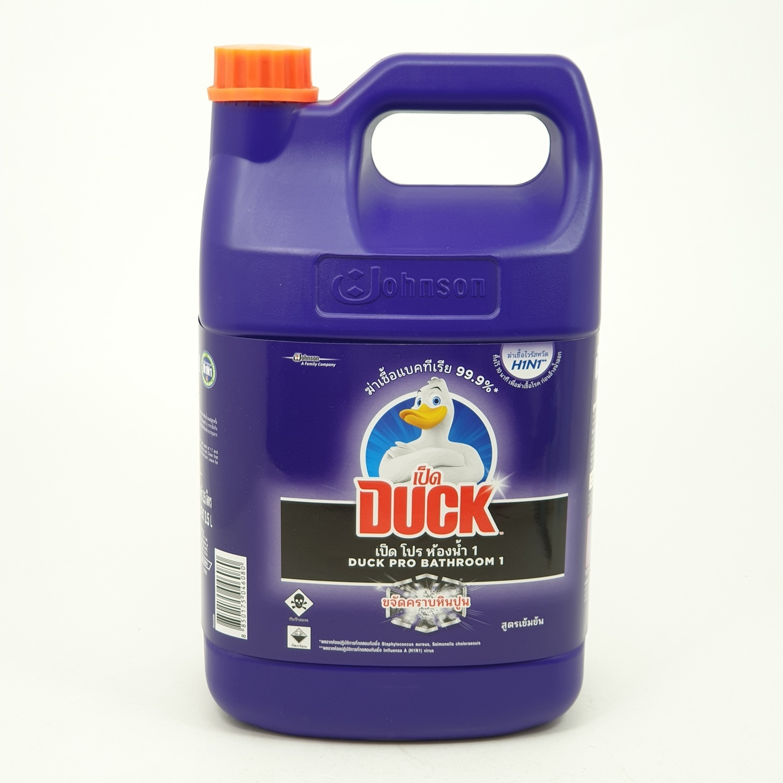 Duck เป็ดมิสเตอร์มัสเซิล โปร ห้องน้ำ(ม่วง) 3500 มล. MR.MUSCLE PRO