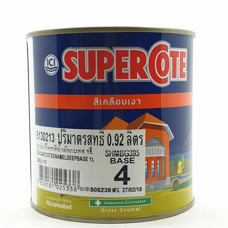 Dulux สีน้ำมัน S/C BASE-CS4 1Lเบสเข้ม ซูเปอร์โคท
