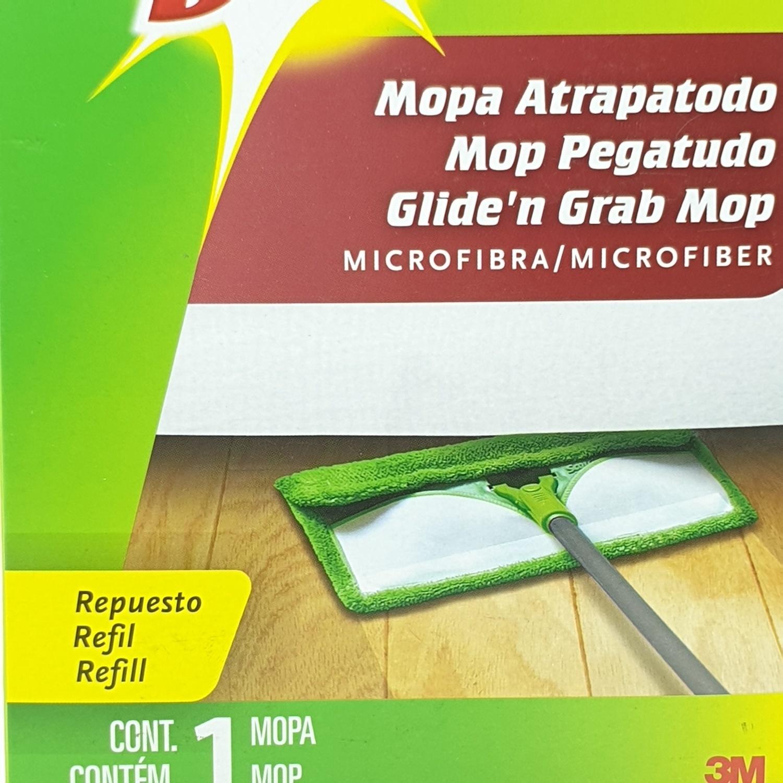 3M หัวม็อบดันฝุ่นไมโครไฟเบอร์ - ขาว-เขียว
