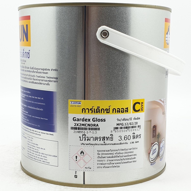 JOTUN สีน้ำมัน ชนิดเงา เบสซี 3.6ลิตร GARDEX PREMIUM GL ขาว