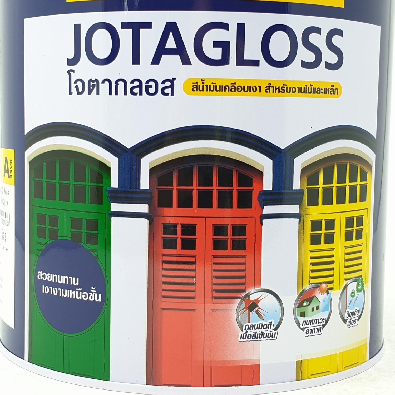 JOTUN สีน้ำมัน เบสเอ ขนาด3.6ลิตร JOTAGLOSS ขาว