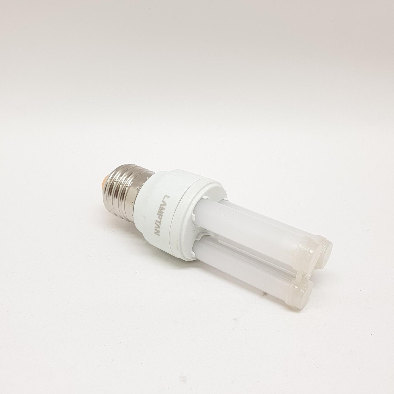 LAMPTAN หลอดไฟแอลอีดี คอมแพค ยูไทป์ 5 วัตต์ แสงเดย์ไลท์ U-type 2U สีขาว