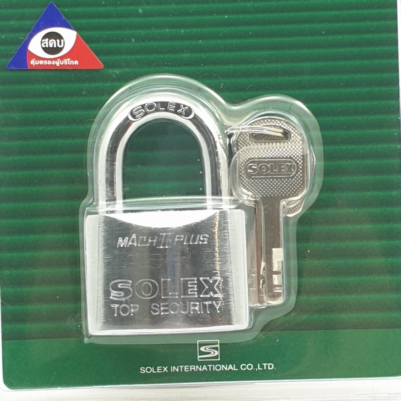 SOLEX กุญแจคล้อง ขนาด 45 มม. MACH II CR 45 MM สีทอง