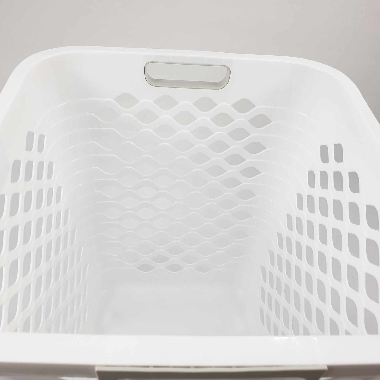 ตะกร้าผ้าพลาสติกทรงสูง 5948 คละสี