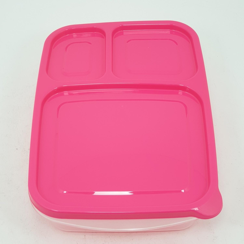 SUPER LOCK กล่องเชฟบ็อค  ขนาดบรรจุ  650 ml. (2ชิ้น/แพ็ค) 6074 คละสี