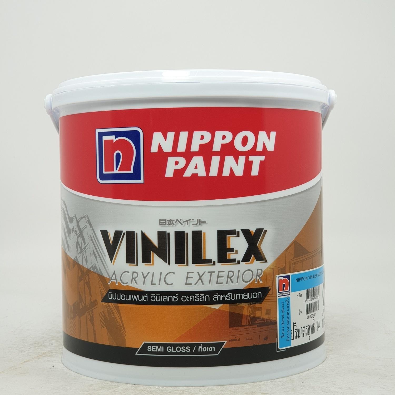 NIPPON นิปปอนเพนต์ วีนิเลกซ์ อะครีลิค- ภายนอก  BASE C สีขาว