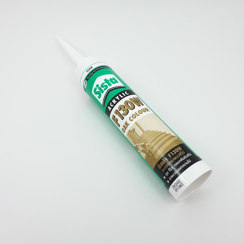 Sista  ยาแนวอะคริลิคสีไม้ (สีโอ๊ค) 300 มล F130