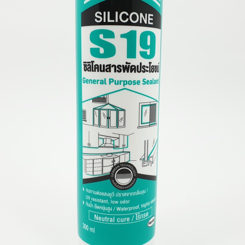 Sista  ยาแนวซิลิโคนสารพัดประโยชน์ (สีใส) 300 มล  S19
