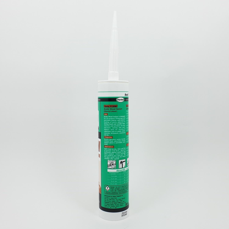 Sista ยาแนวอะคริลิคสีไม้ (สีเชอร์รี่) 300 มล F130W