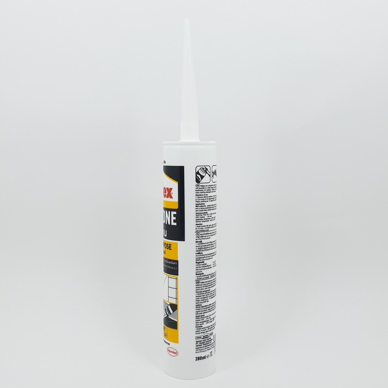 PATTEX  ยาแนวซิลิโคนเอนกประสงค์ (สีใส) 280 มล Multipurpose Silicone (Trans)