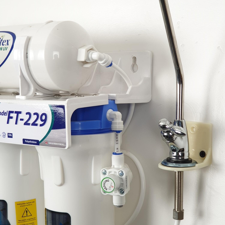 - เครื่องกรองน้ำดื่ม 5 ขั้นตอน FT-229